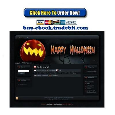 Pay for Halloween Pumpkin Template Package