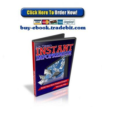 Pay for The Instant Infoprenuer Video Course