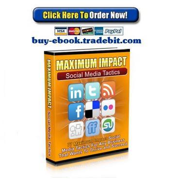 Pay for Maximum Impact Social Media Tactics