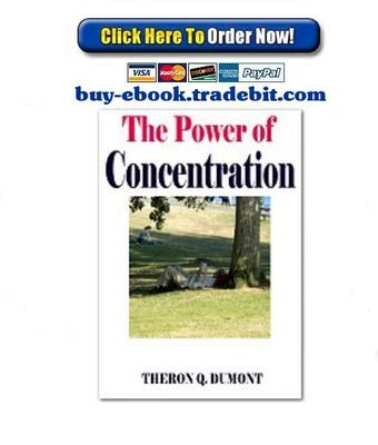 Pay for The Power of Concentration
