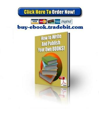 Pay for How To Write and Publish Your Own Books