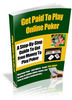 Thumbnail Online Poker Strategy, Get Paid To Play Online Poker eBook