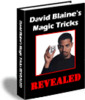 Thumbnail Magic Tricks, David Blaines Magic Tricks Revealed eBook