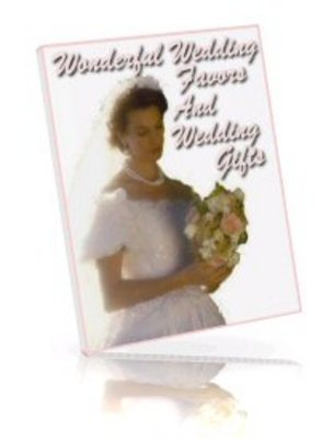 Pay for Wonderful Wedding Favors And Wedding Gifts eBook