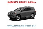 Thumbnail TOYOTA KLUGER 3.5L V6 2008-2013 FULL WORKSHOP SERVICE MANUAL
