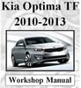 Thumbnail KIA 2010,11,12 & 2013 OPTIMA TF FULL WORKSHOP SERVICE MANUAL