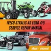 Thumbnail Iveco Stralis As Euro 4/5 COMPLETE WORKSHOP Repair Manual