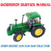 Thumbnail JOHN DEERE 2140 3640 TRACTOR WORKSHOP SERVICE REPAIR MANUAL