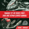 Thumbnail YAMAHA YZF R6 SERIES 2003-2005 BIKE REPAIR SERVICE MANUAL