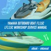 Thumbnail YAMAHA OUTBOARD BOAT F115 C LF115 C Workshop Service Manual