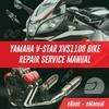Thumbnail YAMAHA V STAR XVS1100 BIKE REPAIR WORKSHOP MANUAL