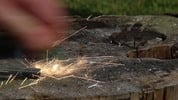 Thumbnail Flint Steel Slow Motion - Sparks