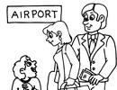 Thumbnail Airport Pyrography Stencils
