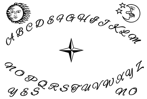 ouija board coloring pages - photo#9