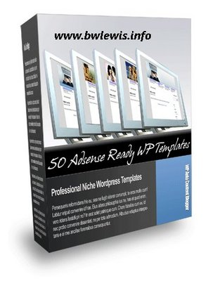 Pay for 50 Adsense Ready Professional Niche Wordpress Templates