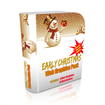 Pay for Early Christmas Web Graphics Pack