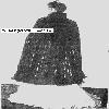 Thumbnail 1908 Edwardian Era Long Evening Cape Crochet Pattern