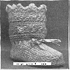 Thumbnail Star Stitch High Top Baby Bootie Crochet Pattern 1914