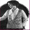 Thumbnail 1924 Knot Stitch Surplice Womens Vest Crochet Pattern