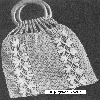 Thumbnail 1935 Trailing Arbutus Purse Filet Crochet Pattern
