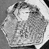 Thumbnail 1943 Dancing Bears Baby Bib Vintage Crochet Pattern