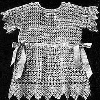 Thumbnail Antique Baby Frock - Dress Antique Crochet Pattern
