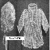 Thumbnail Arbutus Baby Jacket and Bonnet Filet Crochet Pattern