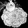 Thumbnail Dove Design Pineapple Style Lace Doily Crochet Pattern