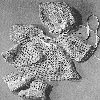 Thumbnail Royal Lacy Baby Sacque Booties Bonnet Crochet Pattern