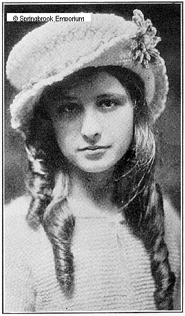 Pay for Star Stitch Hat for a Young Lady Antique Crochet Pattern