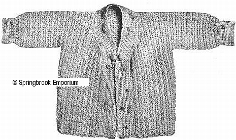 Pay for Dolly Dimple Baby Sweater Titanic Era Crochet Pattern