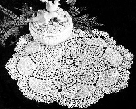 Doily Number 7274 | Free Crochet Patterns