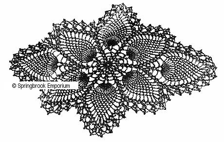 Fast And Beautiful Pineapple Doily Crochet Pattern Download Ebooks