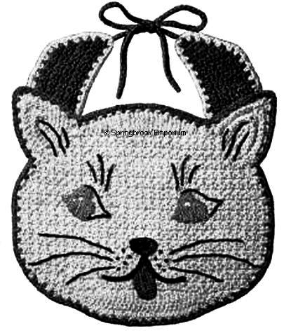 Free Crochet Pattern - Cat Face Fridgie from the Fridgies Free