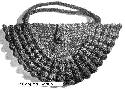 Pay for Luster Shell Vintage Handbag Crochet Pattern