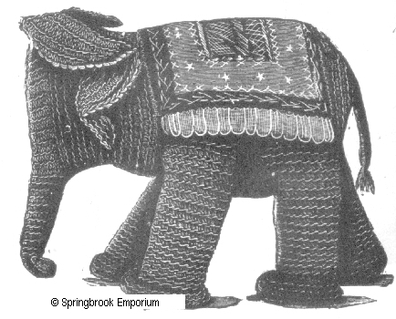 Pay for Victorian Era Toy Elephant Crochet Pattern