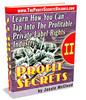 Thumbnail Profit Secrets Volume II eBook.