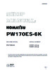 Thumbnail Service Manual Komatsu Wheel Excavator PW170ES-6K