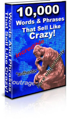 Pay for 10.000 Words & Phrases that sell like crazy
