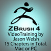 Thumbnail Zbrush 4 Video Training Box Set by Jason Welsh