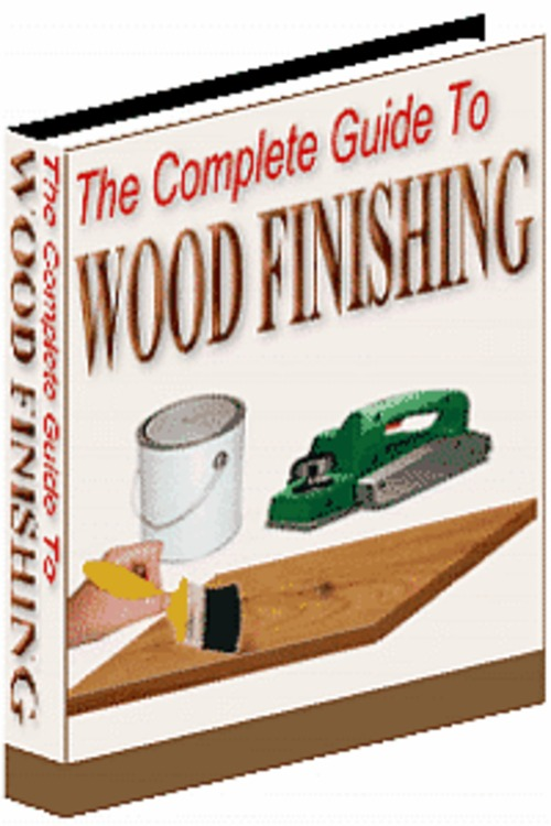 Pay for The Complete Guide to Wood Finishing