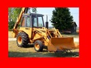 Thumbnail ►►► CASE 580CK 580 580B CK TRACTOR DIGGER BACKHOE SERVICE WORKSHOP Engines Fuel System Electrical Steering Power train Brakes Hydraulics