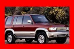 Thumbnail 1995 ISUZU TROOPER UX ELECTRICAL TROUBLESHOOTING MANUAL
