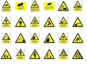 Thumbnail 950 HEALTH SAFETY HAZARD SIGNS PRINT VECTOR VINYL PLOTTER