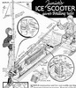 Thumbnail Build a Wind Powered Ice Yacht Scooter Guide Plans VINTAGE