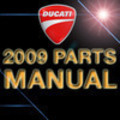 Thumbnail DUCATI 2009 1100S MONSTER EURO UK PARTS CATALOGUE MANUAL
