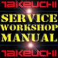 Thumbnail TAKEUCHI TL140 TL 140 CRAWLER WORKSHOP REPAIR SERVICE MANUAL
