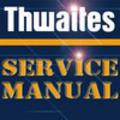 Thumbnail Thwaites 220 221 226 1.5 2 tonne ton dumper service manual