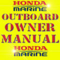 Thumbnail HONDA BF9.9 15A OUTBOARD OWNER OWNERS MANUAL