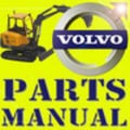 Thumbnail VOLVO ECR88 MINI DIGGER EXCAVATOR PARTS CATALOG IPL MANUAL